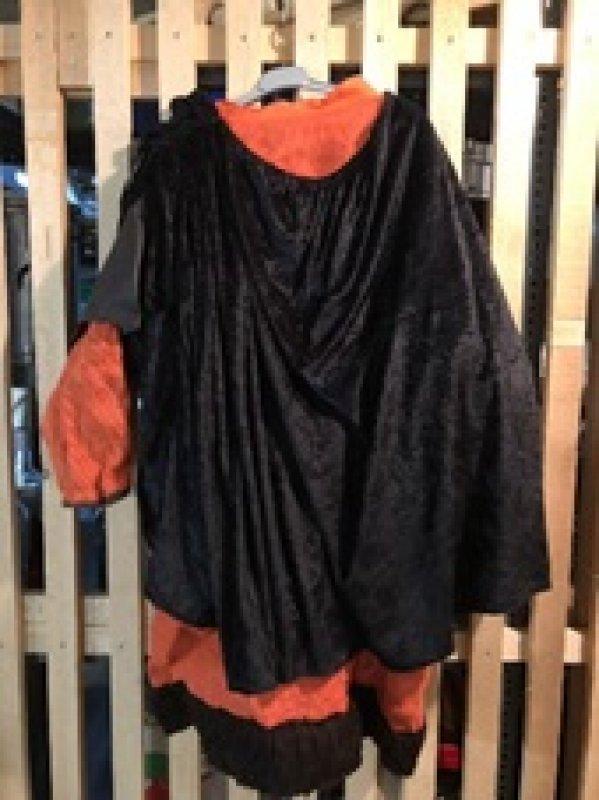 Kleid Orange Einzelstück Gr. M