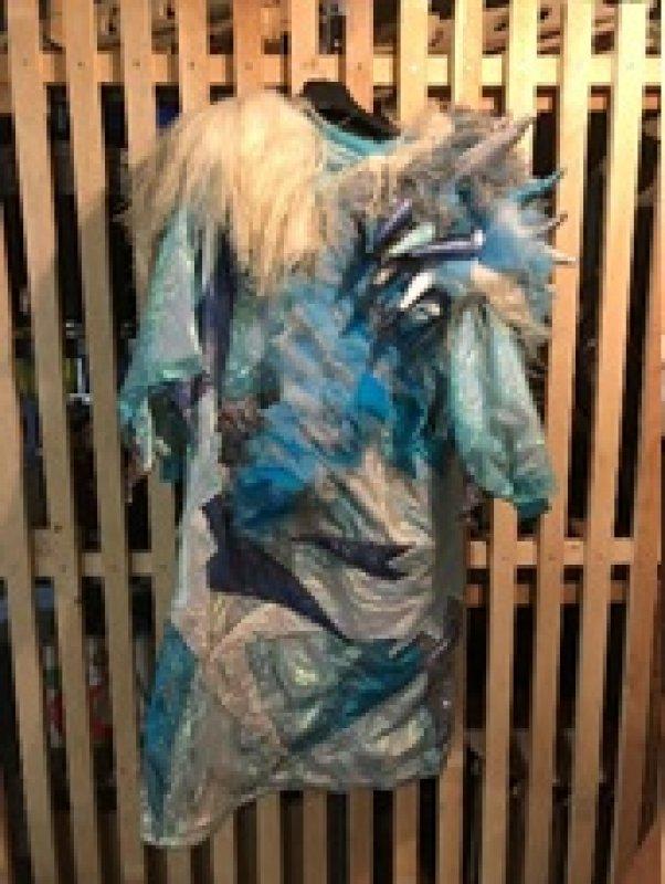Kleid Eisfarben Einzelstück Gr. M